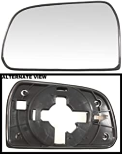 Fits 10-15 Tucson Right Pass Heated Convex Mirror Glass w// Rear Holder OE