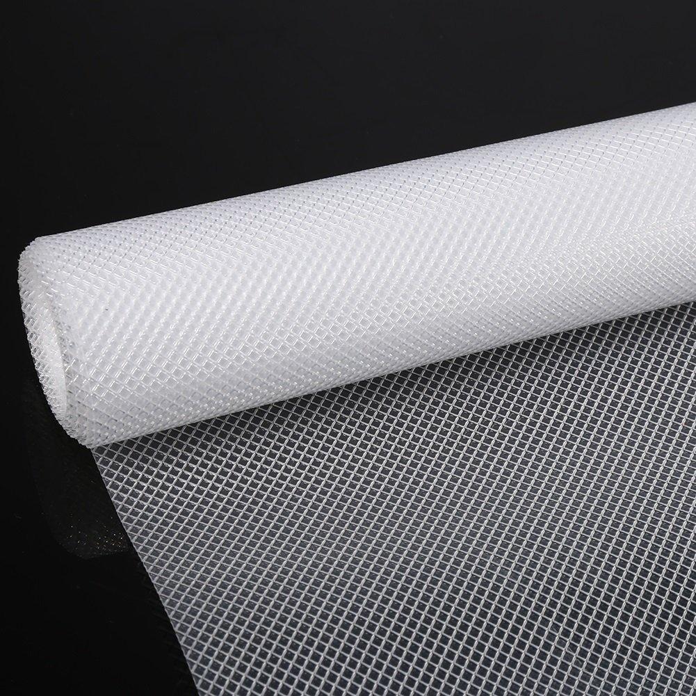 Cassetti EVA non adesivo trasparente antiscivolo tappetino cassetti per casa armadio cabinet mensola, #1, 120*30cm Yosoo