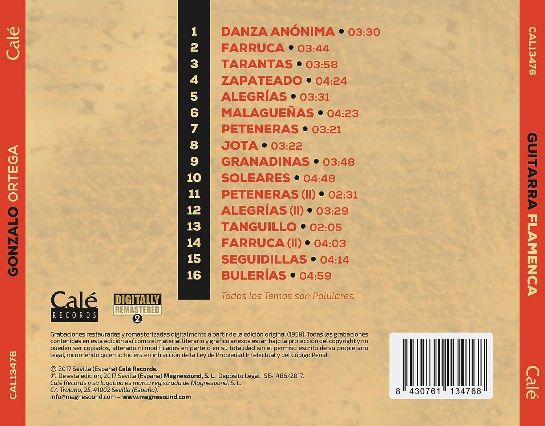 Guitarra Flamenca: Gonzalo Ortega: Amazon.es: Música