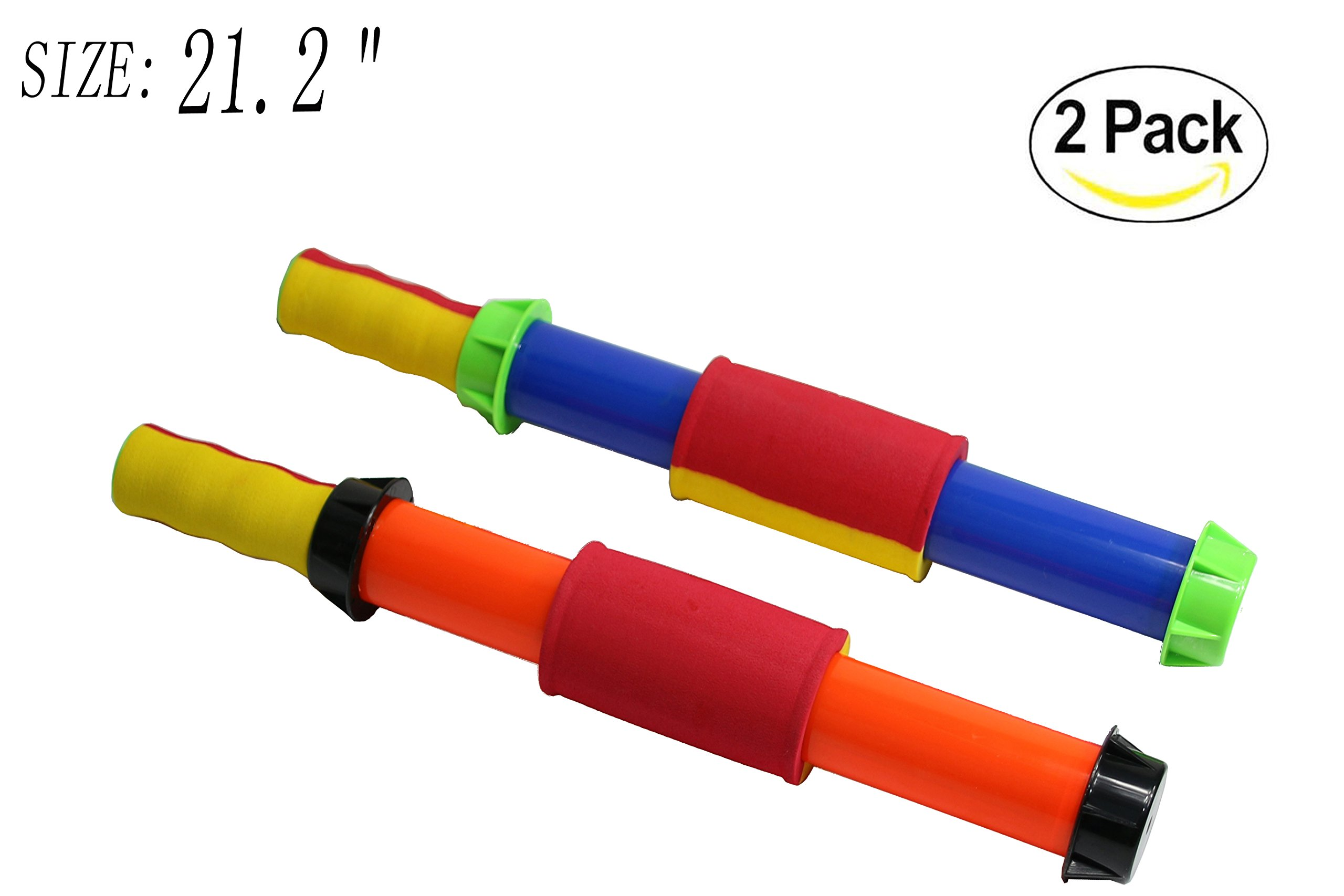Water Guns With Easy Grip Handles super soaker squirt gun Fun Summer Toy water guns for kids adults ,Powerful Water Gun, Most gifted Summer Pool Beach Water Toy (2 Pack 21.2 IN)