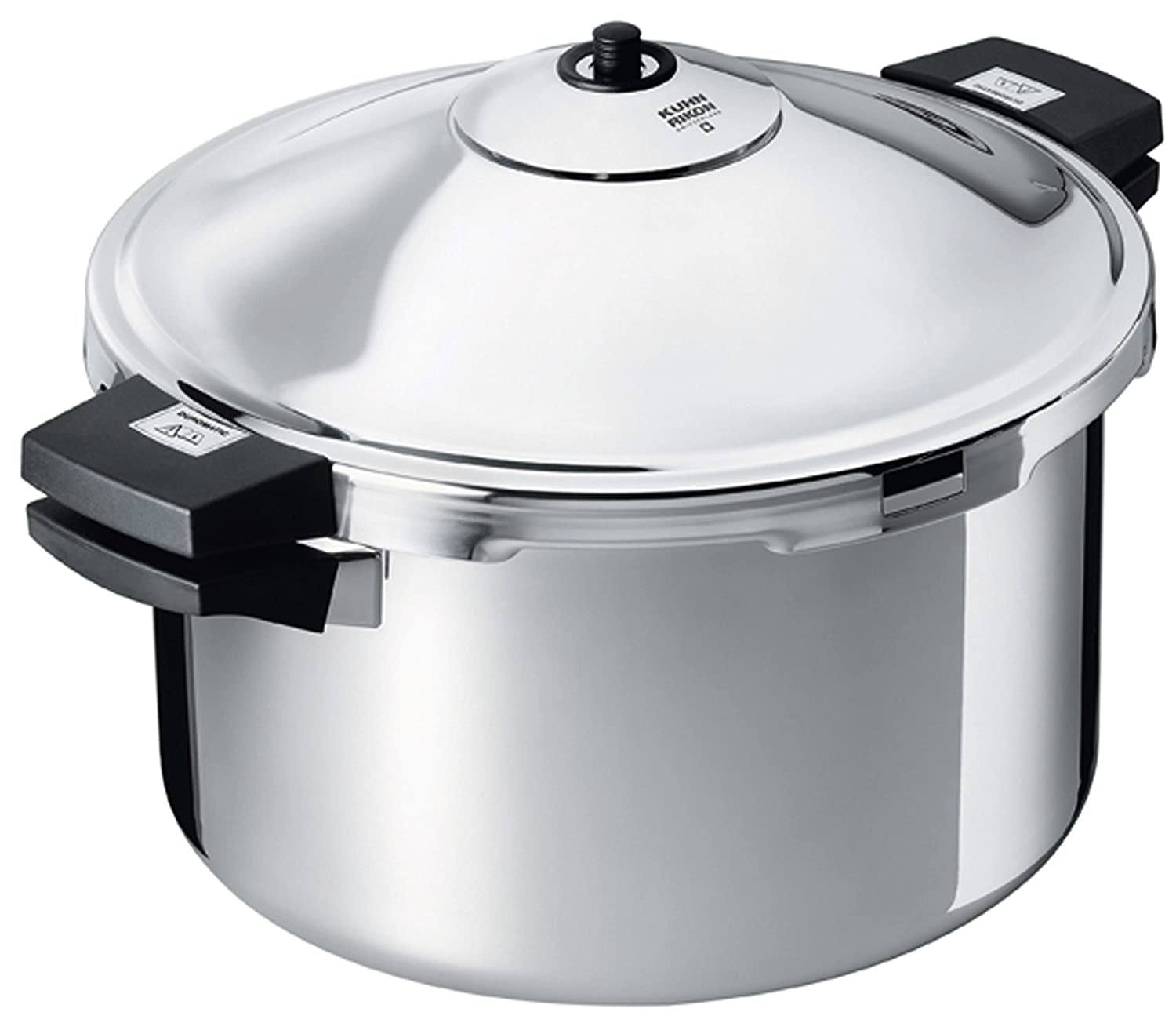 Kuhn Rikon Duromatic Hotel Stainless Steel Pressure Cooker with Side Grips, 8 Litre / 28 cm
