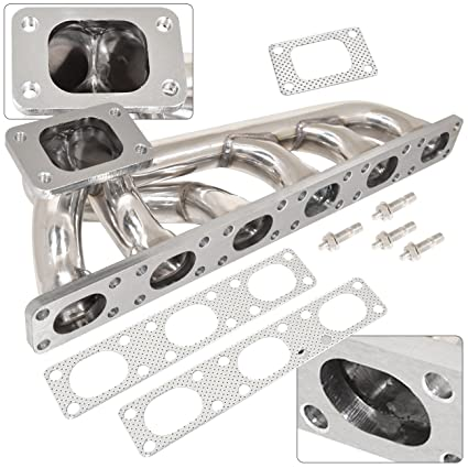 Bmw E36 3-Series 323I 325I 328I T3 T4 Stainless Turbo Exhaust Manifold  Header M50 M52
