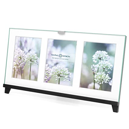 Amazon.com - Swing Design Easel Picture Frame, 4 by 6-Inch, Black ...