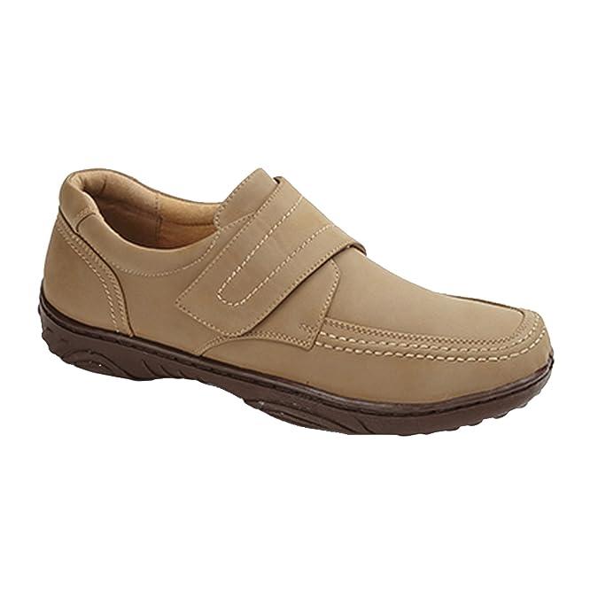 Zapatos casuales Modelo Touch Fastening dise/ño con con cierre de velcro Hombre Caballero Trabajo Vestir Smart Uns