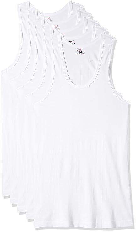 Rupa Jon Men's Cotton Vest Men's Underwear Vests at amazon