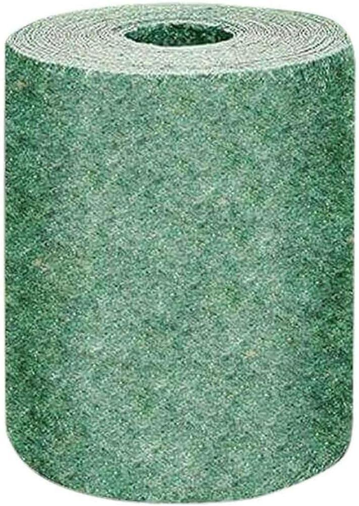 Alfombrilla para semillas de hierba, esterilla biodegradable para semillas de hierba, todo el año, verde, solo ruede y crezca, esterilla para semillas de hierba, fertilizante biodegradable para césped