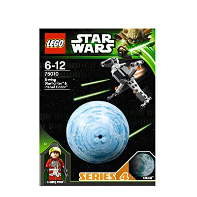 Lego Star Wars B-wing Starfighter & Endor 75010: Toys & Games [5Bkhe1102062]