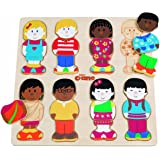 Tidlo Little Friends Wooden Puzzle