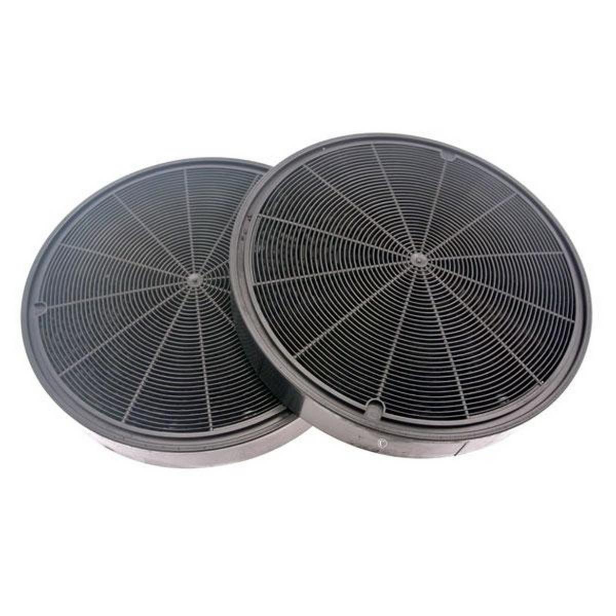 Juego de 2 filtros de carbón tipo 196 - Campana - AEG, Ariston ...