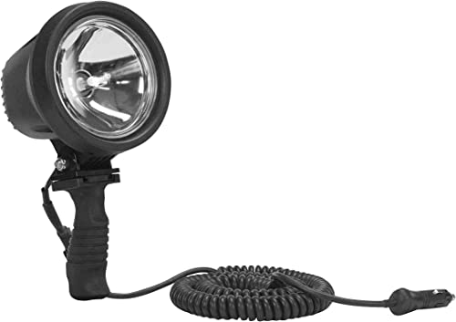 15 Million Candlepower – HID Handheld Spotlight – IP67 Waterproof – 2500 Long x 80 Wide Spot Beam