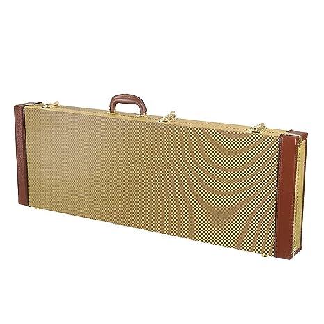 Hillhead Funda rígida para guitarra eléctrica, bolsa rectangular con ...