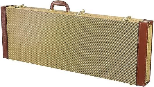 ERCZYO Estuche rígido para guitarra eléctrica, bolsa rectangular con bloqueo para guitarra solista Strat Tele ERCZYO: Amazon.es: Instrumentos musicales
