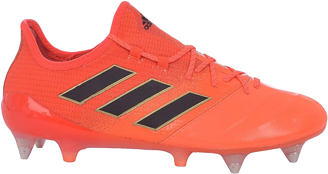 adidas Perfromance Mens X 17.1 Soft Ground Sports Football Boots Shoes Yellow