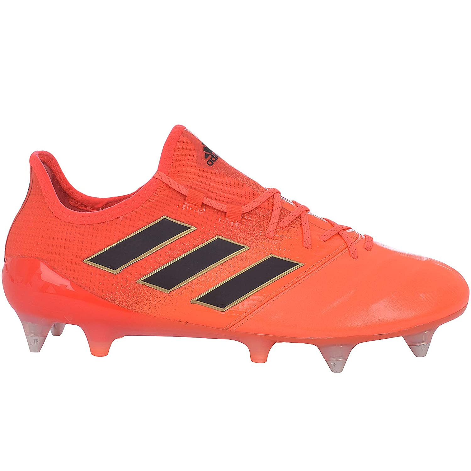 bdc18280b Amazon.com: adidas Performance Mens ACE 17.1 Leather SG Soccer Boots -  Orange: Sports & Outdoors