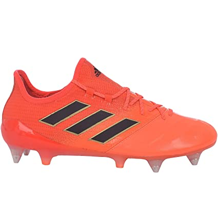 premium selection ebd7f f0fa7 adidas Performance Mens ACE 17.1 Leather SG Soccer Boots - Orange