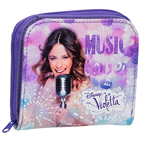Disney Violetta Billetera, Violeta
