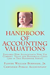 Handbook of Accounting Valuations (Handbooks of Accounting 3) Kindle Edition