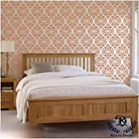 Kayra Decor Reusable Wall Stencil / Wallpaper - (16 X 24) Inches