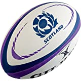 Official Replica Gilbert Scotland Purple Rugby Ball - Made In Scotland