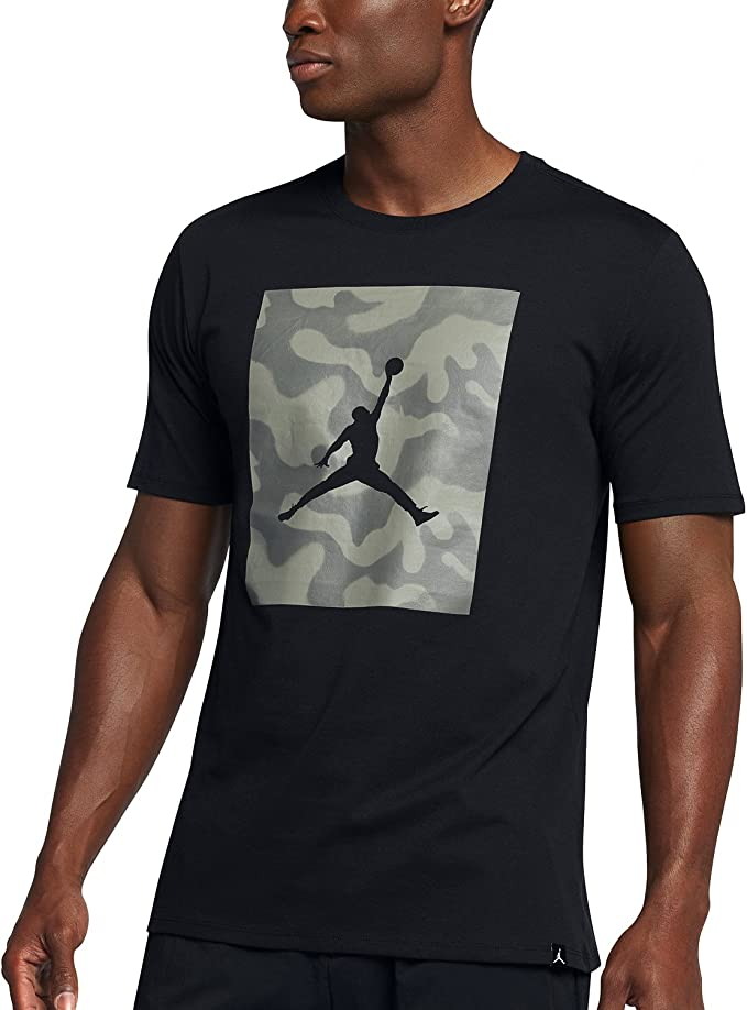 Nike T Shirt Shirt AIR Jordan Basketball Logo Camouflage