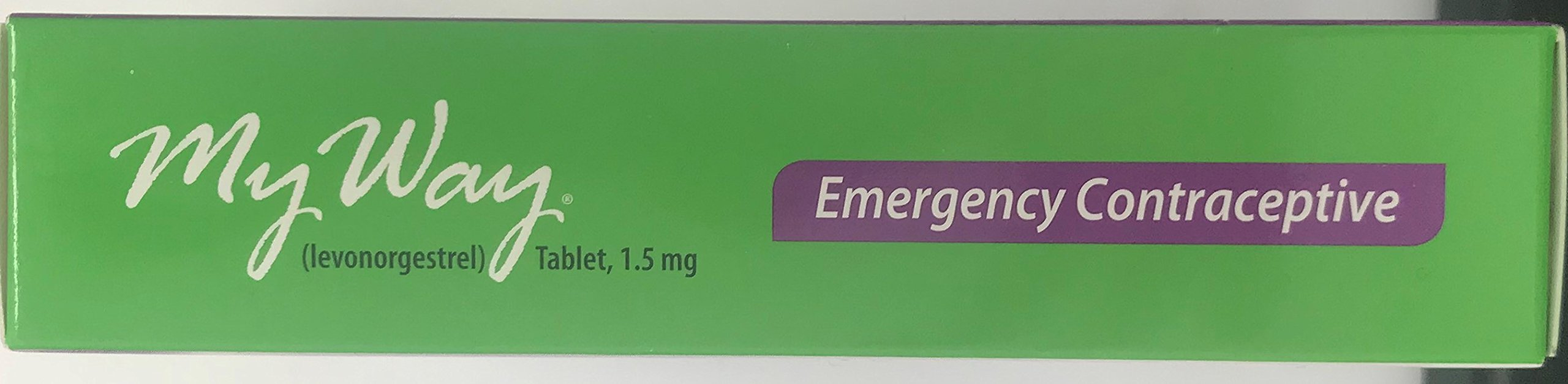 My Way Emergency Contraceptive 1 Tablet *Compare to Plan B One-Step* Set of 6 Pills by Gavis Pharmaceuticals