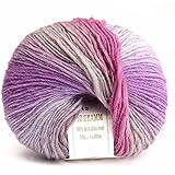Fil de Laine Coloré doux Cachemire Enfants Main Tricot Crochet 50g (12)