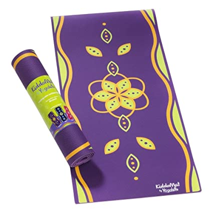 Kiddomat Esterilla de yoga para niños, disponible en 3 colores