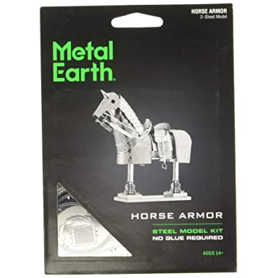 Fascinations Metal Earth Horse Armor 3D Metal Model Kit: Toys & Games