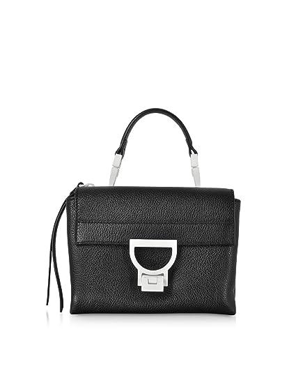 177a2311cc76 Coccinelle Women's E1d2455b701001 Black Leather Handbag: Amazon.co ...