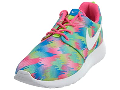differently 562a2 8b216 Nike Roshe One Print (GS), Chaussures de Sport Fille: Amazon.fr ...