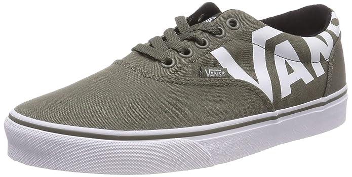 Vans Herren Doheny Big Logo Sneaker Grün (Dusty Olive)