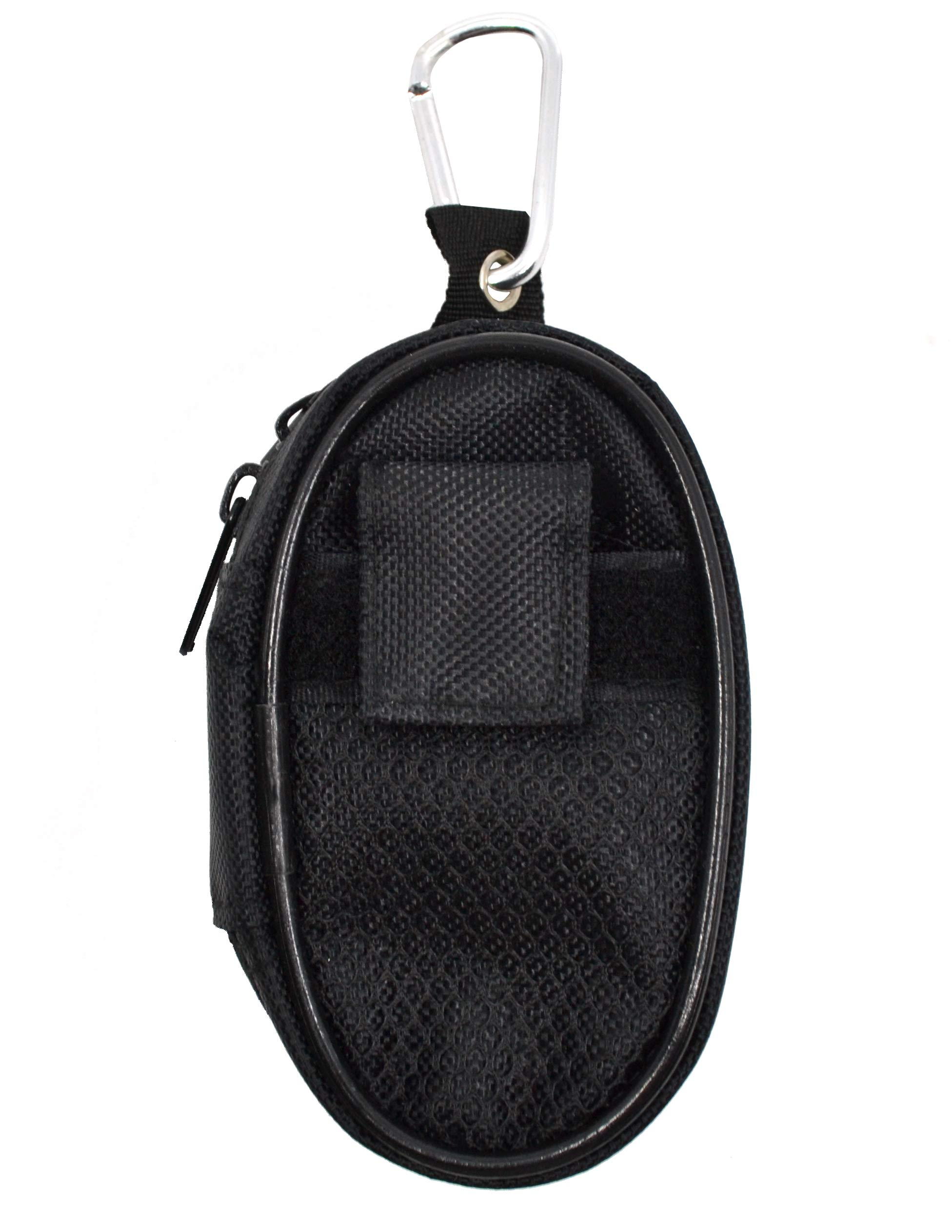 Teak Tuning Fingerboard Travel/Carry Bag - Black