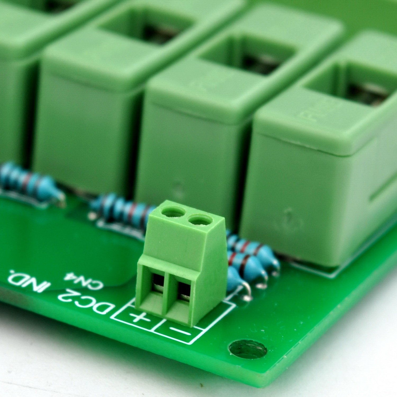 Electronics-Salon 18 Channels 12V/24V 20A Power Distribution Fuse Module, For CCTV Security Camera ect DIY. by Electronics-Salon (Image #8)
