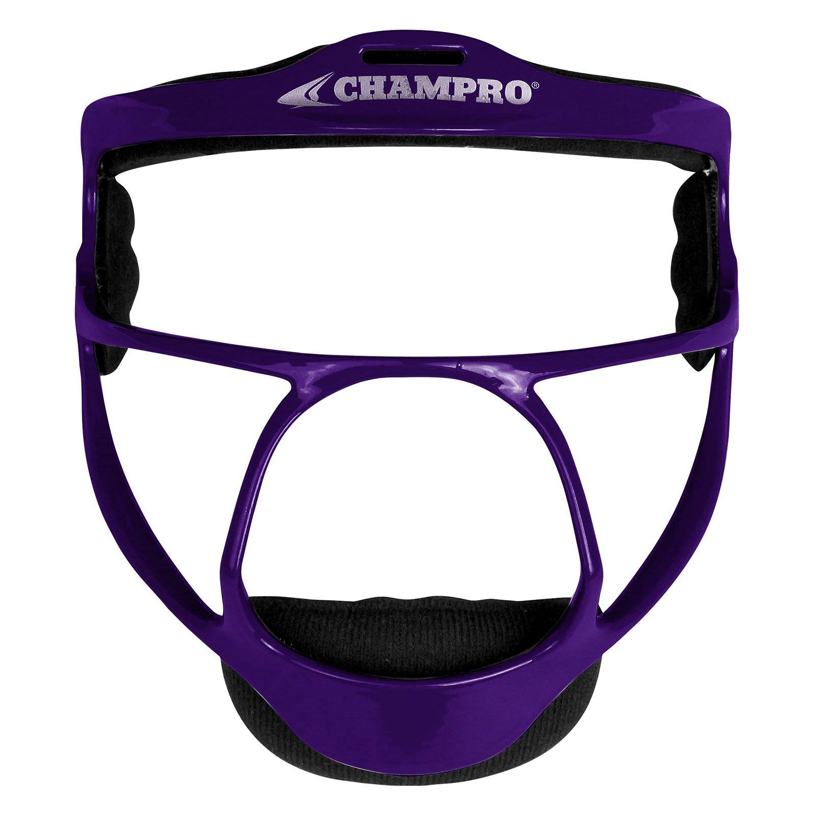 Champro Rampage Softball Fielders Mask, Youth, Purple by CHAMPRO
