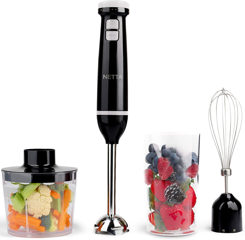 Food processor, blender, hand blender