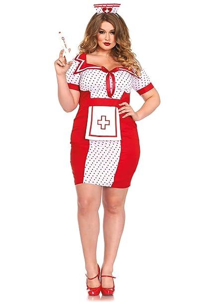 Amazon.com: Leg Avenue Women\'s Plus-Size Bedside Betty: Clothing