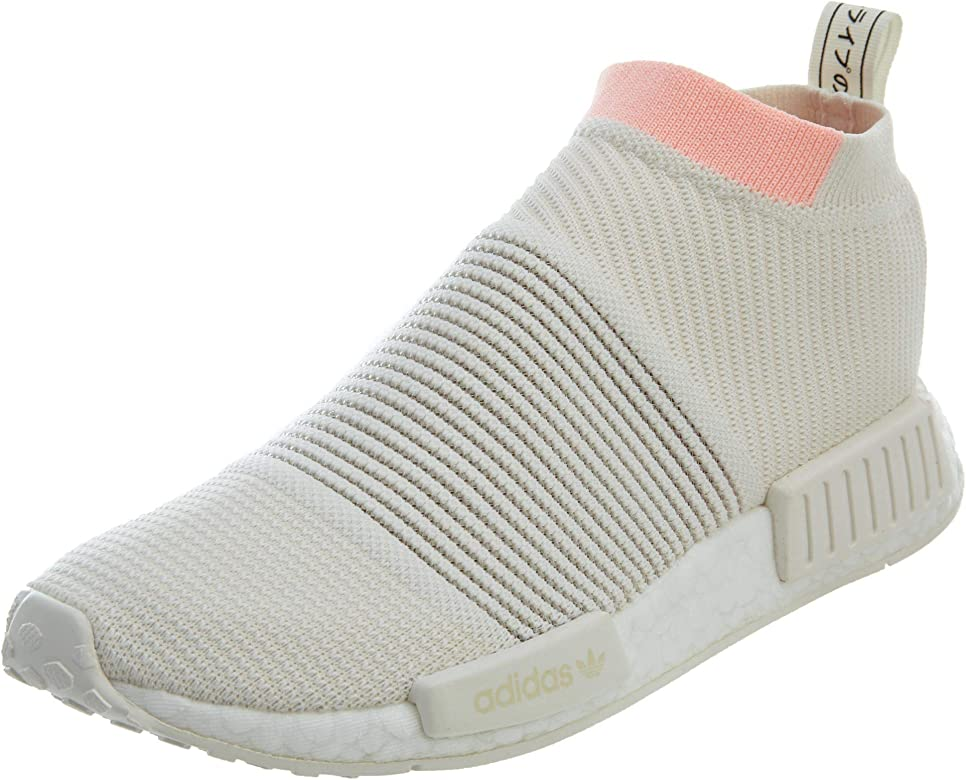 new products 305a6 c7342 adidas NMD Cs1 Pk White Clear Orange Womens - Amazon Mỹ ...