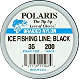 Woodstock Line 200yd Ice Fishing Line 35 Black Fishing Equipment