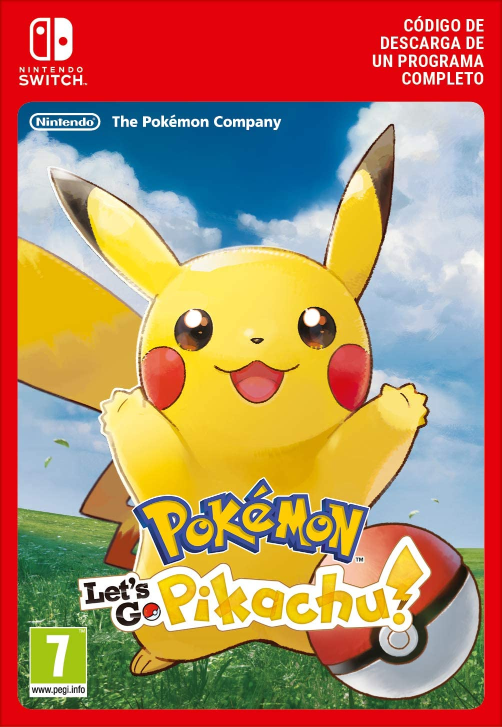 Pokémon Let S Go Pikachu Nintendo Switch Código De Descarga Amazon Es Videojuegos