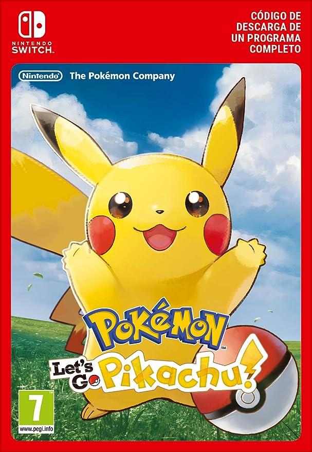 Pokémon: Lets Go, Pikachu! | Nintendo Switch - Código de descarga ...