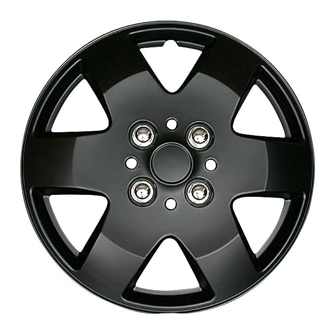 Viz - Ruedas para T26 4 hojas Toyota Starlet (negro mate) viz-wj5052bp13 - 087: Amazon.es: Coche y moto