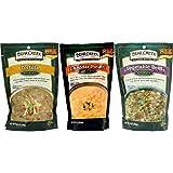 Bear Creek Country Kitchens Soup Mix 3 Flavor Variety Bundle: (1) Tortilla Soup Mix, (1) Cheddar Potato Soup Mix, and (1) Vegetable Beef Soup Mix, 9-12.1 Oz. Ea.