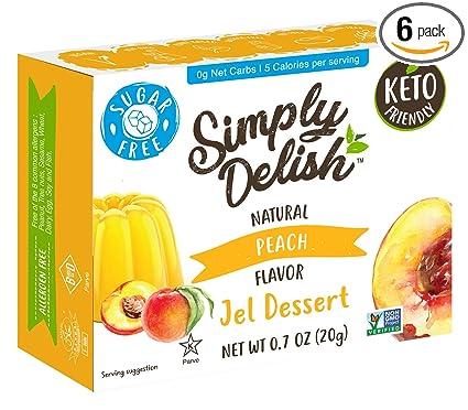 JEL DSRT,RASPBERRY .7 OZ Pack of 6 SIMPLY DELISH