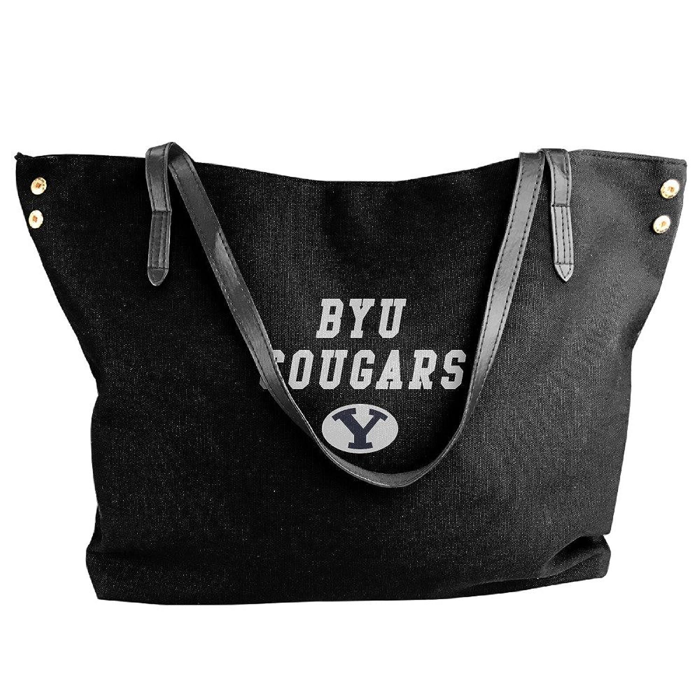 NCAA Brigham Young University BYU Cougars Logo Handbag Shoulder Bag For Women