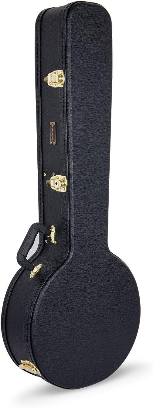 Crossrock CRW500 Serie Basic Funda para banjo, incluye 5 capas de ...
