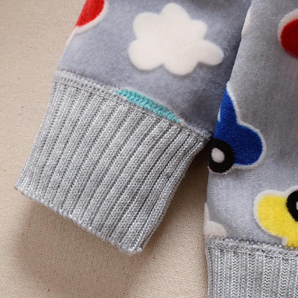 URMAGIC Bambino Piccolo Cardigan Knitwear Infantile Cartone Animato Vello Maglione Maglieria Capispalla Abbigliamento per 1-3 Anni