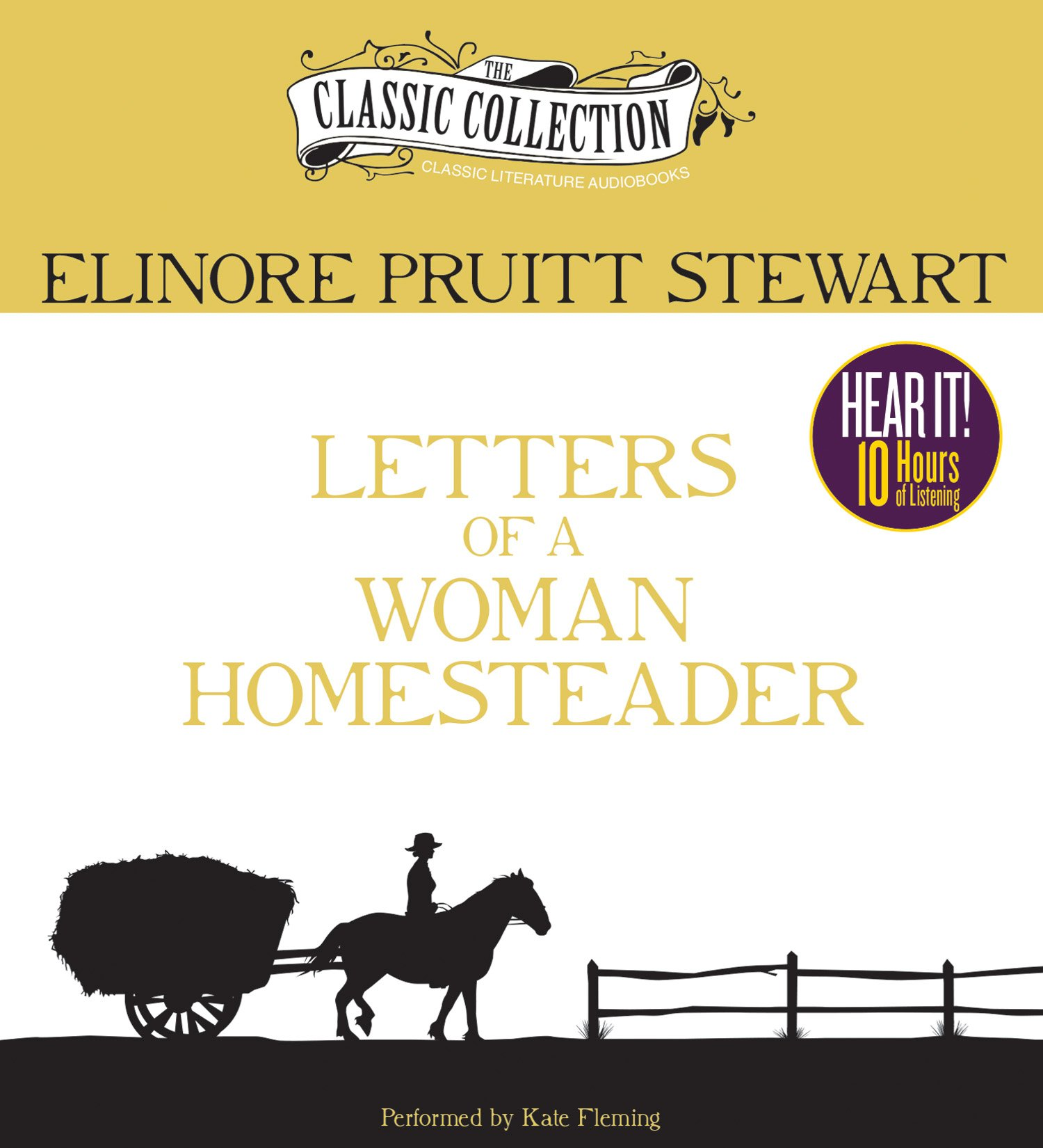 Letters of a Woman Homesteader (Classic Collection (Brilliance Audio)) by The Classic Collection