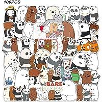 WayOuter We Bare Beren Stickers 100 stks Anime Stickers voor Jongens Laptop Skateboard Waterdichte Auto Sticker