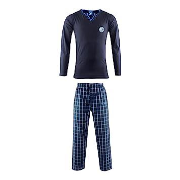 Fußball-Artikel Fc schalke 04 Schlafanzug  Shirt Hose Gr 128