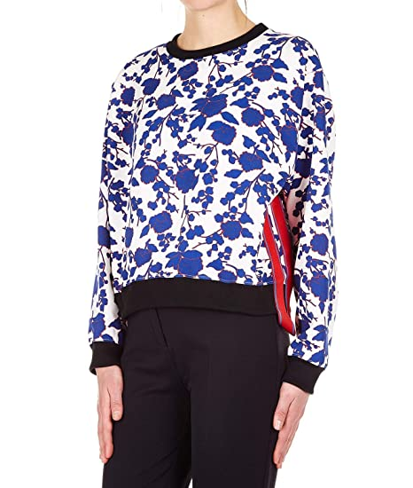 fdf48b802dd Pinko Women's 1G13XC7411ZEG White Polyester Sweatshirt: Amazon.co.uk:  Clothing
